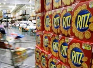 Retiran galletas Ritz del mercado por riesgo de salmonella