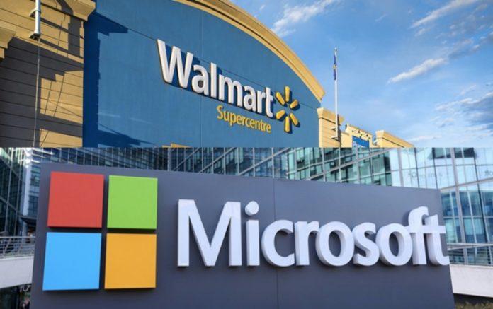 Walmart y Microsoft se unen para hacer frente a Amazon