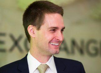 Evan Spiegel fundador de Snapchat