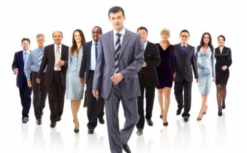 Equipo de trabajo encaminado al éxito