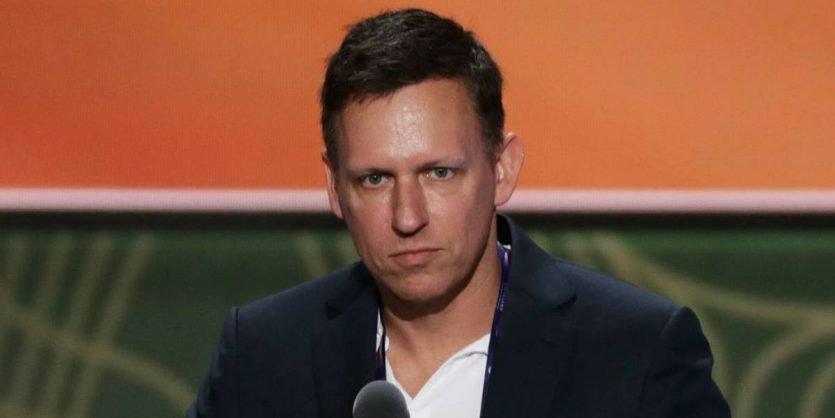 Peter Thiel cofundador de Paypal