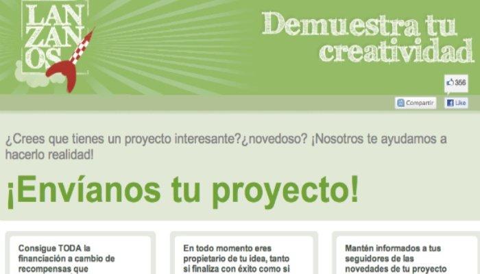 Páginas de crowdfunding para financiar proyectos