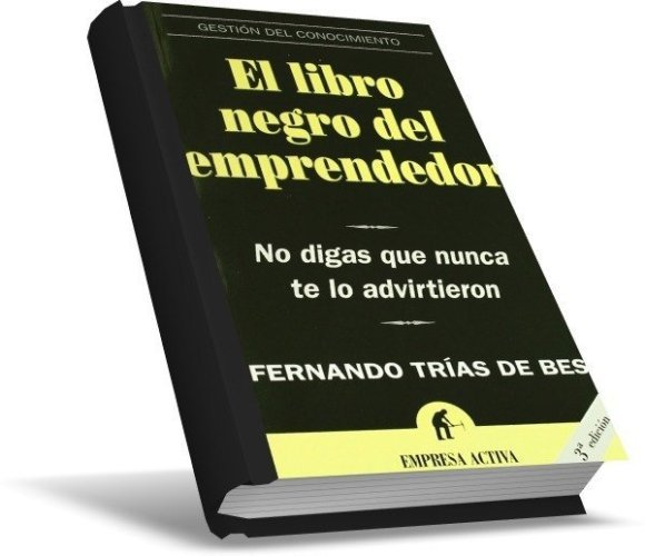 El libro negro del emprendedor, estudia los principales factores de los fracasos de los emprendedores
