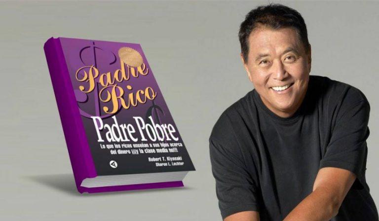 El libro Padre rico, padre pobre de Robert Kiyosaki
