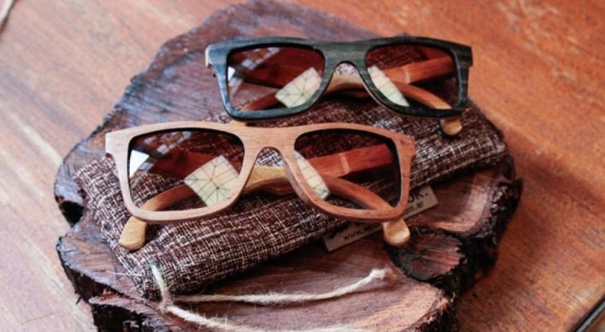 Una mirada sustentable con gafas hechas con desperdicios