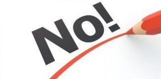 Es muy importante aprender a decir no