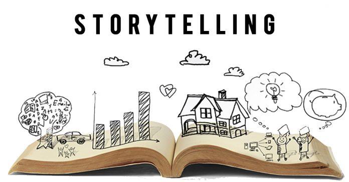 Storytelling es el arte de contar una historia usando lenguaje sensorial
