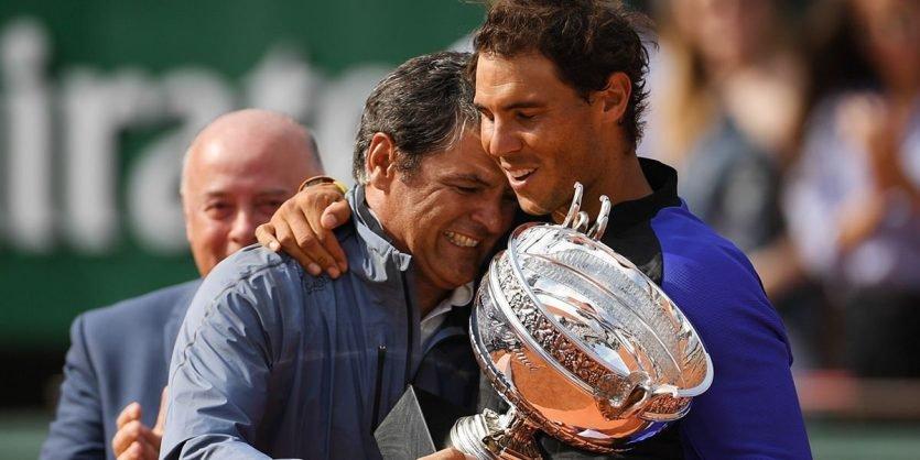 Rafael Nadal nació en 1986 y se considera el mejor deportista español de la Historia