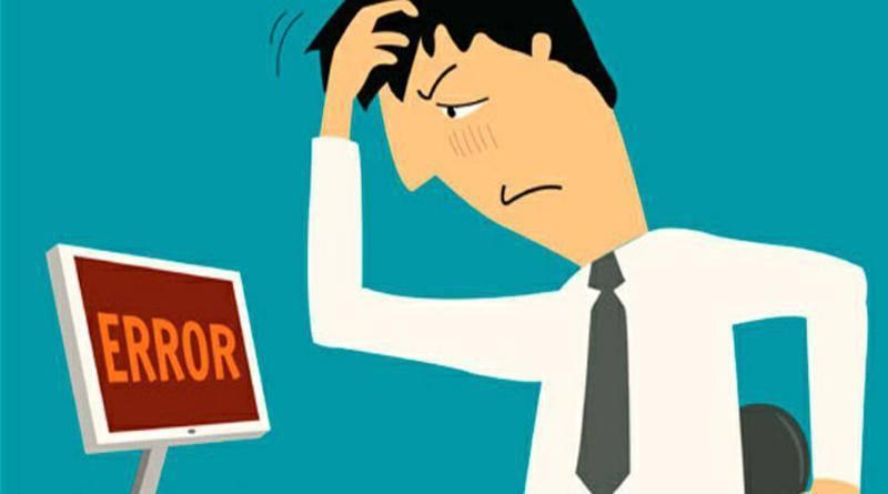 Grandes errores de gestión de una pequeña empresa