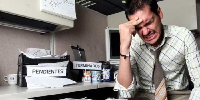 ¿Estrés laboral? 6 consejos para combatirlo