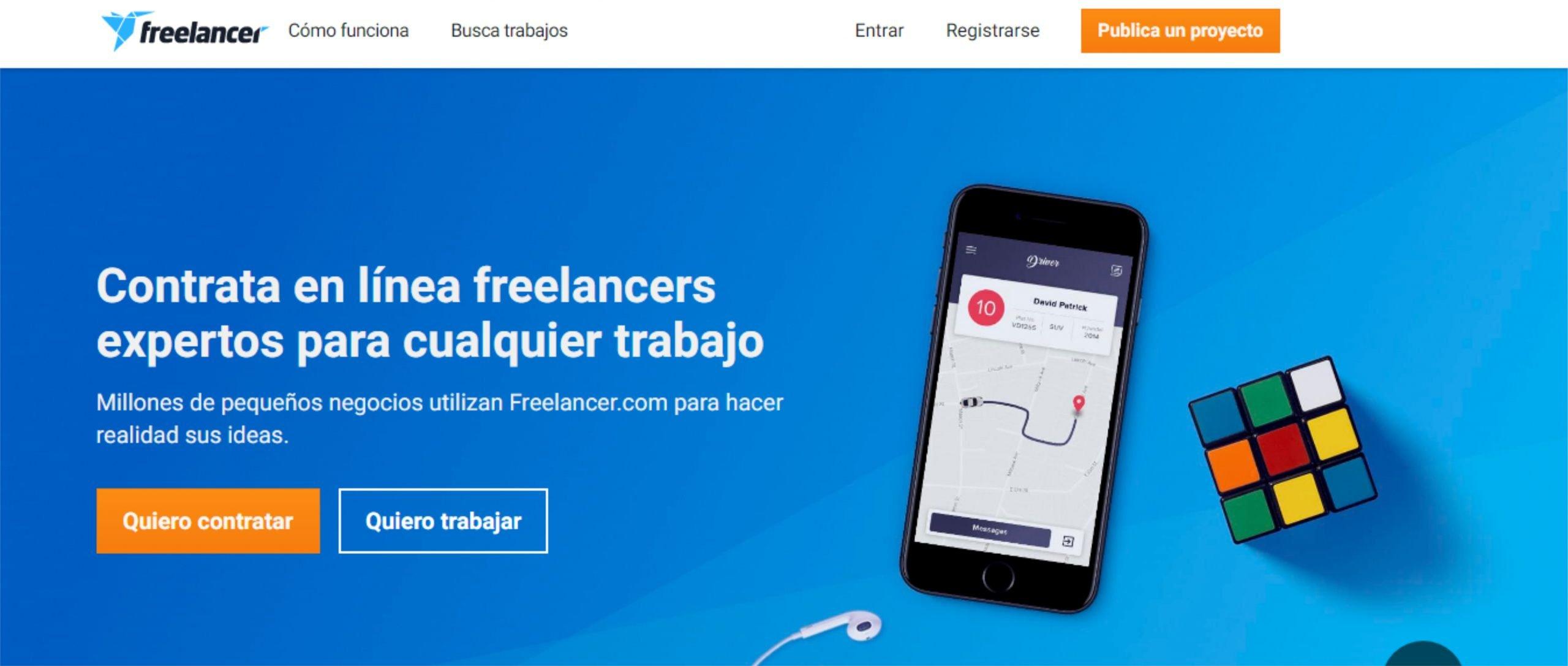 Consigue dinero con Freelancer