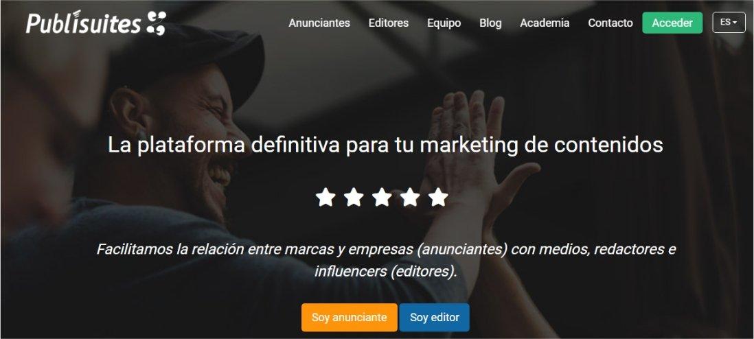 publisuite generar dinero con anunciantes